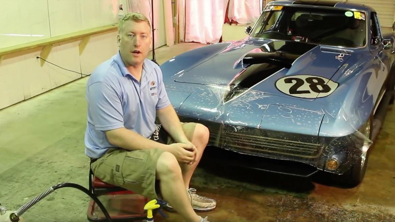 Vintage Racing Corvette Paint Protection Film