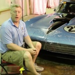 Vintage Racing Corvette Paint Protection Film